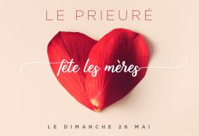 Mother's Day 5 stars hotel Le Prieuré
